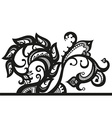 Abstract composition of the ornaments in ethnic vector image