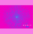 abstract pink circle background stylized vector image vector image