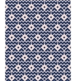 Blue seamless geometric pattern vector image