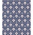 Blue seamless geometric pattern vector image vector image