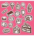 dessert and baking sticker icons