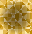 Fragment of an abstract yellow background vector image
