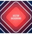 Geometric Background Neon lights Grunge background vector image vector image