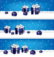 gift-banner vector image vector image
