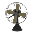 Isolated retro fan vector image vector image