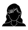 profile avatar user icon - woman female people vector image