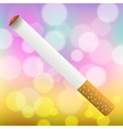 Single Cigarette Isolated vector image vector image