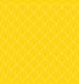 yellow seamless stylish pattern - simple design vector image vector image
