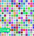 Abstract Geometric Squares Background vector image vector image