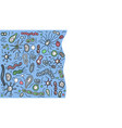 bacteria cells set vector image vector image