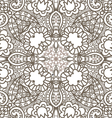 flower decorative pattern vector image vector image