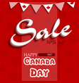 happy canada day5 vector image