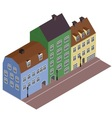 Isometric street vector image vector image