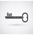 key logo vector image