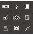 Needlywork icon set vector image