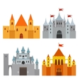 Royal Castle set vector image vector image