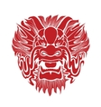 Traditional Asian Dragon vector image
