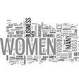 women to blame for lack of female executives text vector image vector image