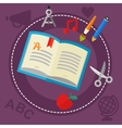 Education and Library Concept vector image