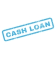 Cash Loan Rubber Stamp vector image vector image