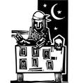 Gypsy Tarot Reading Simple vector image vector image
