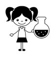 kid school cartoon vector image