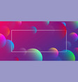 purple spectrum background with abstract bubbles vector image vector image