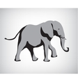 rasterized copy of elephant vector image vector image