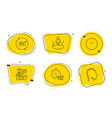 time exhibitors and 360 degrees icons set vector image vector image