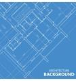 Blueprint best architecture plan vector image vector image
