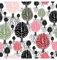 brain with roots seamless abstract backdrop vector image vector image