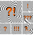 Design punctuation marks set vector image vector image