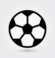 football icon soccer ball icon sports ball symbol vector image