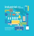 industrial background design decorativ vector image