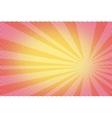 retro comic yellow background raster gradient vector image vector image