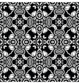 retro floral tile vector image vector image
