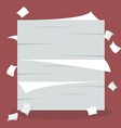 A lot of documents vector image vector image