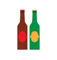 beer glass mug beverage bar pub drink alcohol vector image vector image