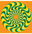 Hypnotic Swirly Sphere vector image vector image