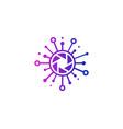 lens share logo icon design vector image vector image