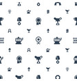 prize icons pattern seamless white background vector image vector image