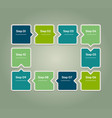 progress background template for diagram vector image vector image