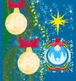 christian christmas nativity scene of baby jesus vector image