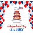 american independence day 4th july usa holiday vector image vector image