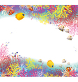 background coral vector image vector image