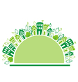Eco icon vector image vector image