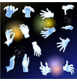 magic hands magician or holding vector image