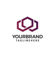 modern and stylish logo design w in vector image vector image