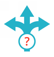 decision making concept vector image vector image