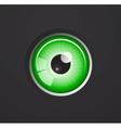 Eye background vector image